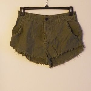 FP Sexy Highrise Button-Fly Shorts